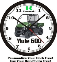 2013 Kawasaki Mule BIG 10, 14 or 17 INCH WALL CLOCK-FREE US SHIP-Choose ... - $28.70+