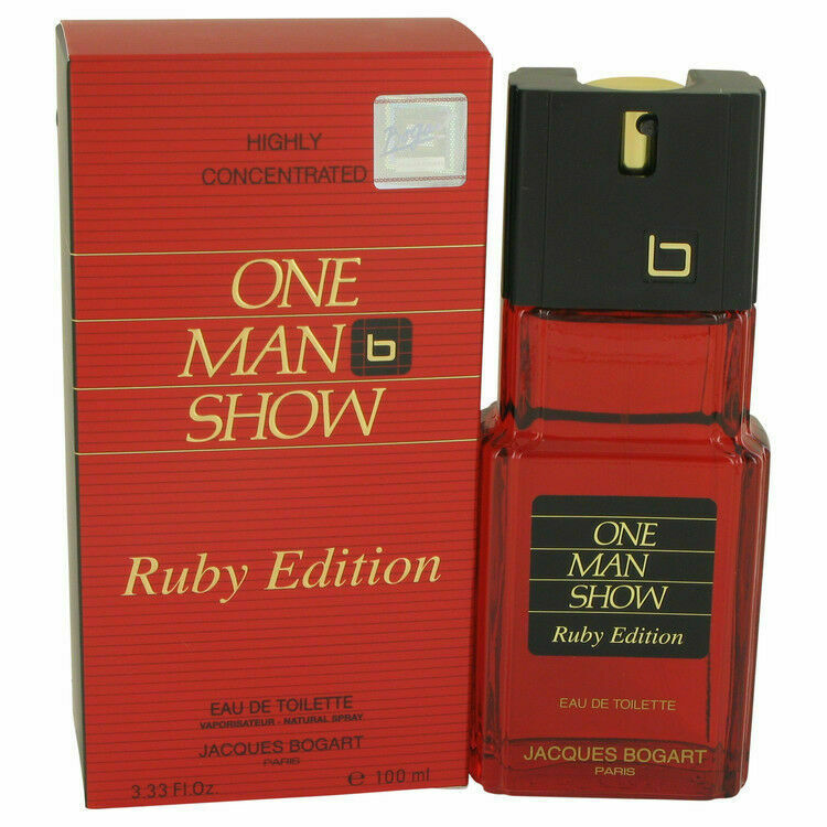 Primary image for ONE MAN SHOW RUBY EDITION (M)  EDT SP 3.3oz