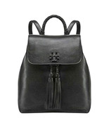 New Tory Burch Taylor Backpack Leather Black Handbag - $365.00