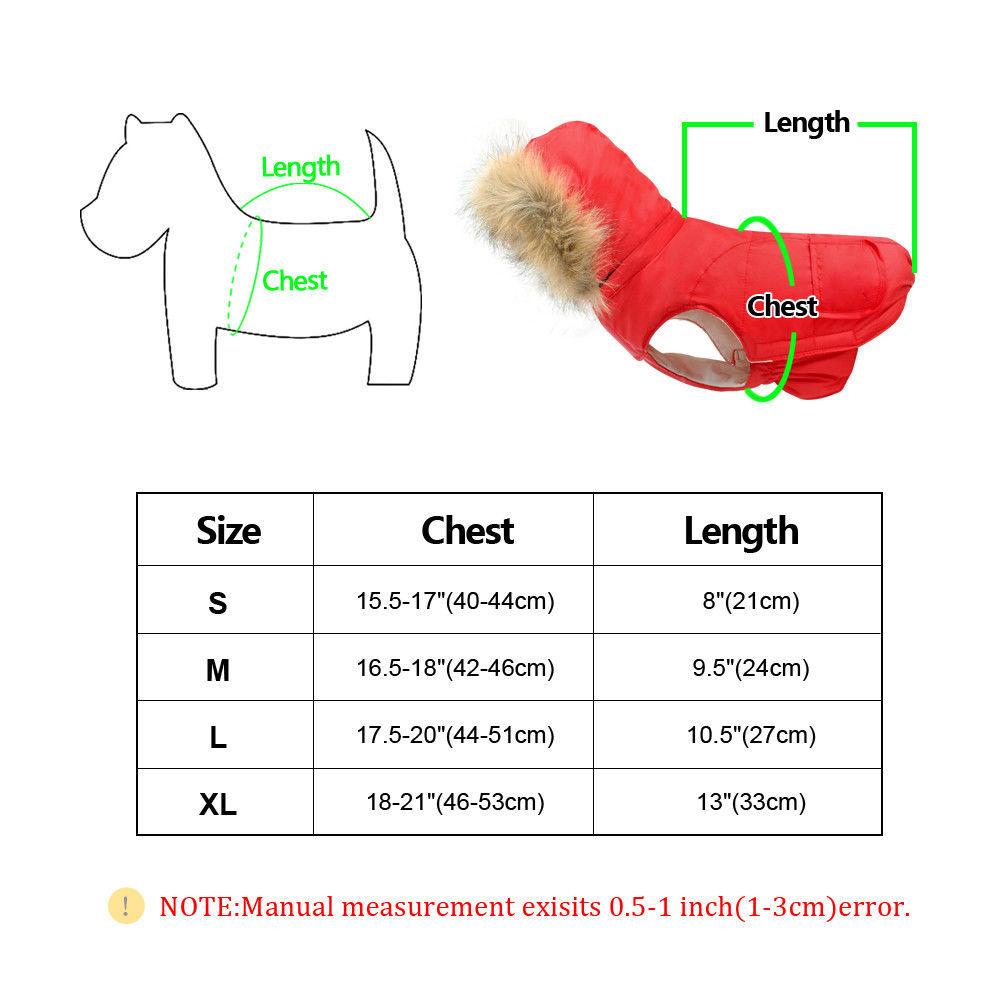 PetArtist® Fashion Pet Dog Clothes Warm Winter Dog Coat Vest Waterproof