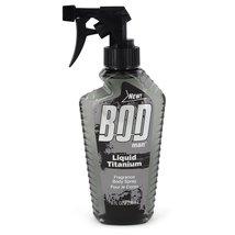 Bod Man Liquid Titanium by Parfums De Coeur Fragrance Body Spray 8 oz - $7.70