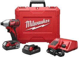 Milwaukee Cordless Impact Driver Kit 18-Volt Lithium-Ion 1/4 Variable Speed - $187.95