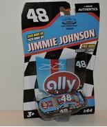 2020 JIMMIE JOHNSON DARLINGTON THROWBACK #48 ALLY NASCAR AUTHENTICS 1:64 - $9.85