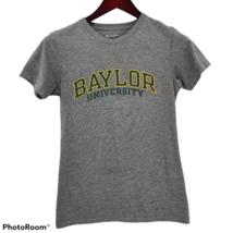 Baylor University Champion Gray Green Yellow TShirt Womens Sz Medium - $11.87