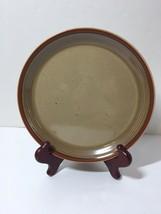 Salad Plate Mikasa Potter's Art Country Cabin Stoneware Brown Ben Seibel - $12.59