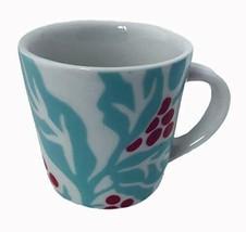 New Starbucks 2018 Festive Flora Cherry Holiday Espresso Mug - 3 Ounce Size - $16.92