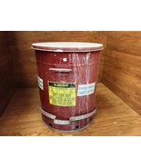Justrite Oily Waste Can 21 Gallon 79 Liters 21in D x 24in 09700 Galvaniz... - $43.94