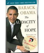 Barack Obama The Audacity Of Hope - $4.23