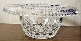 Waterford Crystal Coralee Turnover Bowl # 1052580 New In Box - $147.51