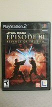 Star Wars: Episode III 3 Revenge of the Sith (Sony PlayStation 2 PS2, 2005) - $9.89