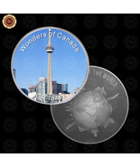 WR Wonders of Canada CN Tower Silver Coins for Collectors Gift Ideas for BF - $7.41