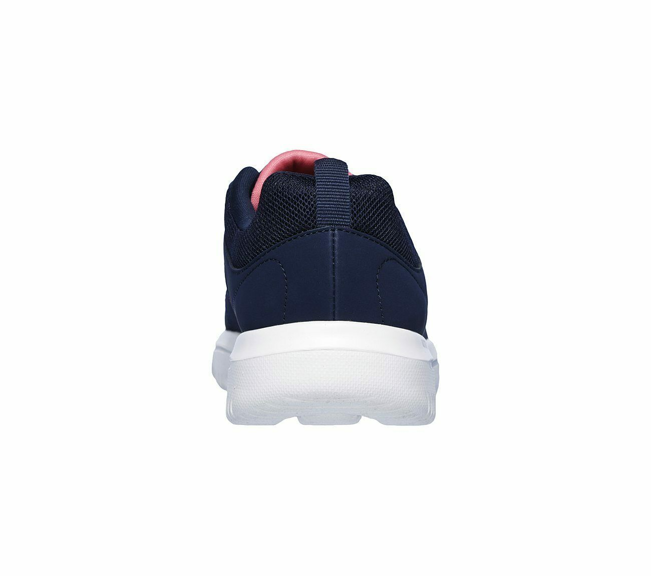Skechers Navy Coral shoes Women Go Walk Comfort Mesh Casual Sporty Lace Up 15734 image 6