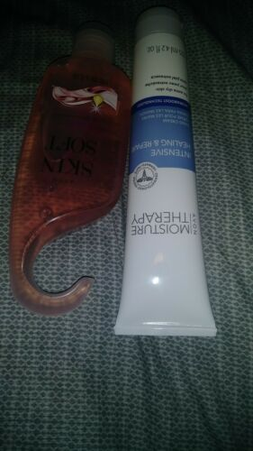 Avon Moisture Therapy Intensive Healing Hand Cream + Avon Shower Gel New image 2