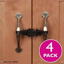 Kiscords Baby Safety Cabinet Locks for Handles Child Safety Cabinet Latc... - $16.52