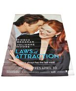 "2004 LAWS OF ATTRACTION Movie Vinyl Theater Banner 48""x70""     (1, 10) - $49.99"