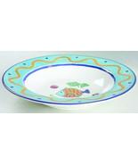 "Studio Nova Fashion ""Ocean Collage"" CA059 Dinner Rim Soup Bowl 8 3/4"" - $19.99"
