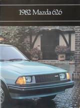 1982 Mazda 626 sales brochure catalog US 82 Sport Luxury - $8.00