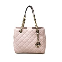 Michael Kors 30H5GAHT1L Susannah Quilted Blossom Leather Small Tote Wome... - $152.10