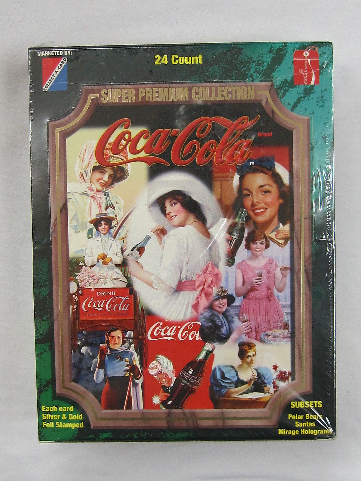 Coca Cola Coke Super Premium Trading Card Basic Set