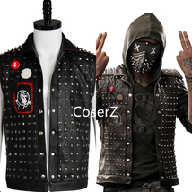 Watch Dogs 2 Cosplay Costume Wrench I Am Dedsec Shawn Baichoo Vest Jacket - £69.54 GBP