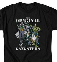 DC Villains OGs T-shirt retro 80s comic book Joker Riddler black tee DCO821 image 1