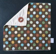 Nojo Polka Dot Monkey Lovey Security Blanket Blankey Two Textures Soft S... - $79.19