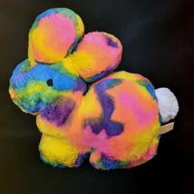 "2020 MTY International Tie Dye Easter Bunny Rabbit Plush Stuffed Toy 16"" - $24.75"