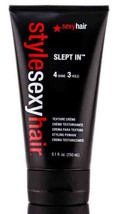 Sexy Hair STYLE Sexy Hair SLEPT IN Texture Creme 4 Shine 3 Hold 5.1oz - $12.63
