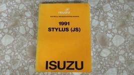 1991 Isuzu Stylus JS Service Manual Electrical Troubleshooting Edition U... - $14.02