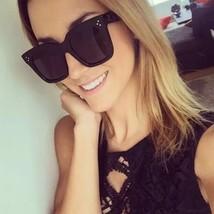 Fashion Sunglasses Black Fashion Top Women Square Aviator Celine Design ... - £6.83 GBP