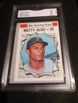 1970 Topps Matty Alou GMA Graded 3 VG All Star Baseball card 460 - $7.75