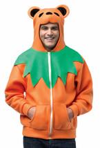 Rasta Imposta Ha Ha Hoodie Unisex Grateful Dead Orange Dancing Bear Adult S/M - £28.90 GBP