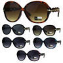 Womens Oversize Diva Round Butterfly Designer Fashion Plastic Sunglasses - $9.95