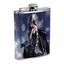 Hot Anime Witches D7 Flask 8oz Stainless Steel Hip Drinking Whiskey - $13.81