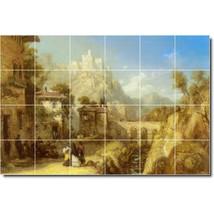 James Webb Village Painting Tile Murals BZ09543. Kitchen Backsplash Bathroom Sho - $240.00+