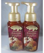 2 Bath & Body Works Gentle Foaming Hand Soap  Honeyed Pineapple Pumpkin - $47.99