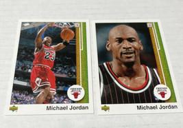 Michael Jordan 2009-10 Upper Deck 2 Card Lot UD Gold Legacy Bundle # 99 100 - $18.69