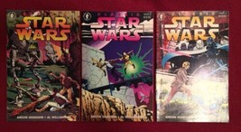 Classic Star Wars #1-2, 4 (3 Issues, DARK HORSE COMICS) Han Solo - $6.85