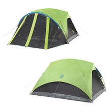 Coleman Carlsbad 4-Person Darkroom Tent w/Screen Room - $167.40