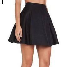 NWOT $278 Kate Spade Black Tokyo Lula skirt silk blend women's size 4 - $48.26