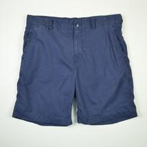 Polo Ralph Lauren Men's Chinos Swimwear Shorts Solid Navy Blue Size 36 - $28.44