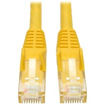Tripp Lite 3ft Cat6 Gigabit Snagless Molded Patch Cable RJ45 M/M Yellow 3 - 3ft  - $21.36