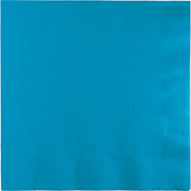 2 Ply Lunch Napkins Turquoise/Case of 600 - £30.54 GBP