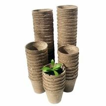 Eco Friendly Gardening Pot Nursery Plant Fiber Material Pulp Seeding Cup... - £21.46 GBP