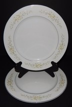 2 Crown Victoria Carolyn Dinner Plates Fine China Japan Floral Pattern A... - $29.69