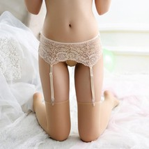 .Floral Pattern Sexy Lace Lift Hip Belt For Lady Thigh-Highs Stockings w... - $17.10+