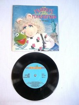The Muppets Take Manhattan Hear Read See Book 33 1/3  Record 1984 - $14.80