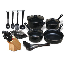 Gibson Home Total Kitchen 32 Piece Cookware Combo Set - $37.49