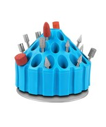 Particial Dental Laboratory Rotating Tool Bur Box Bur Holder Grinding He... - £10.81 GBP