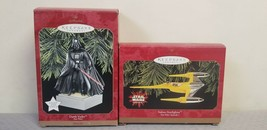 Star Wars Series Darth Vader & Naboo StarFighter Keepsake XMAS Ornament set - $22.76